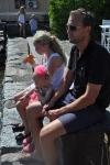 Vaxholm med familjen